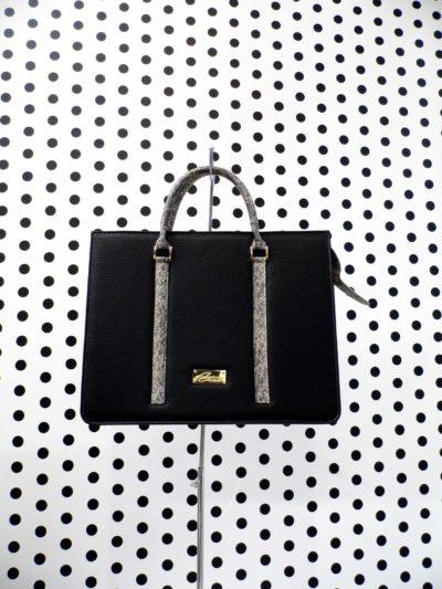 Čierna kabelka Tina