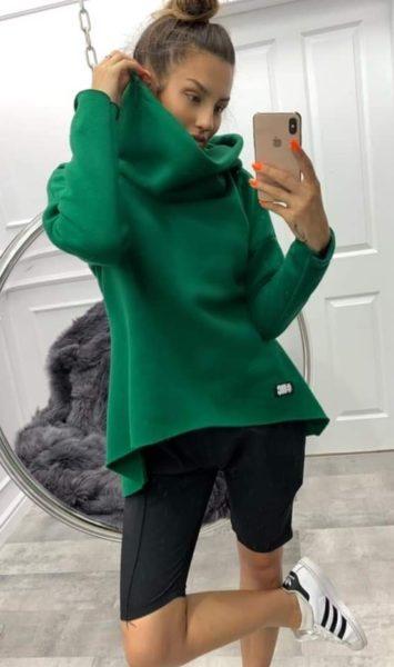 Zelená mikina MC