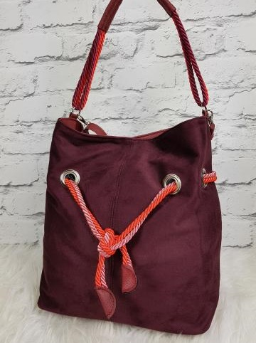 Bordová kabelka