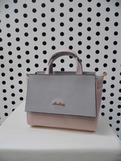 Púdrovo sivá kabelka