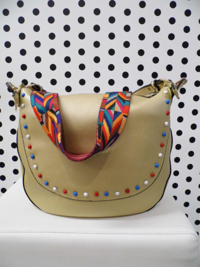 Zlatá kabelka s vybíjancami