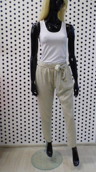 Letné nohavice béžové