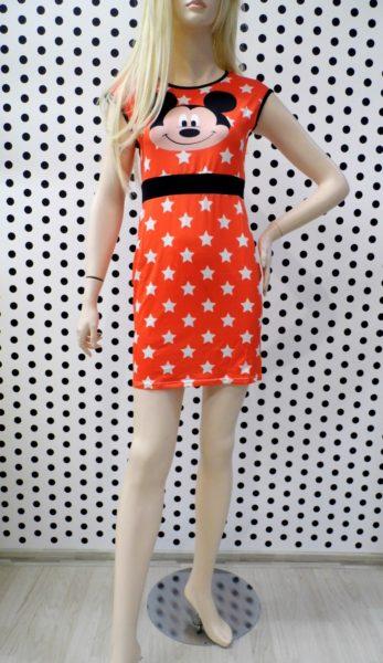 Mickey šaty oranžové