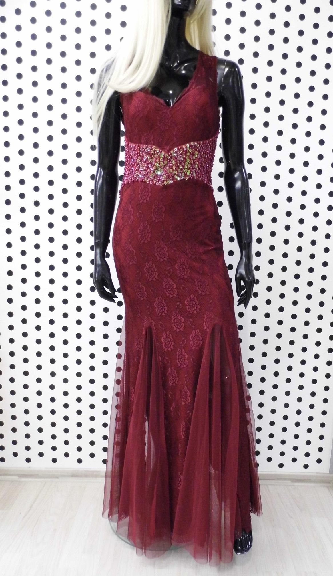 9e2e75747 Bordové spoločenské šaty – erlenfashion.sk