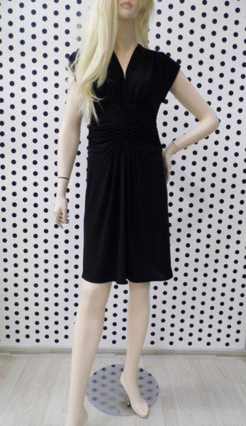 Čierne šaty Stela