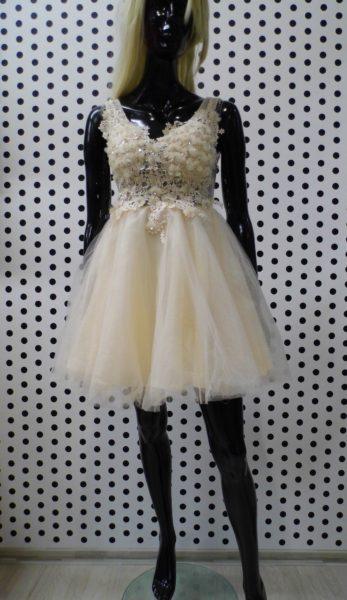Smotanové šaty