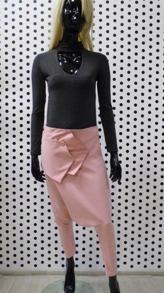 Ružové pudlové nohavice