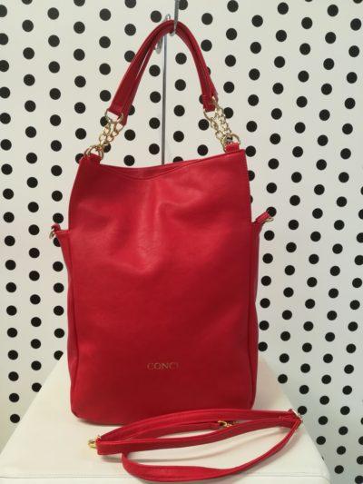 Červená kabelka Conci