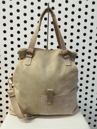 Maslová kabelka s kožou