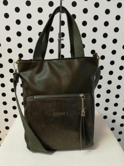 Zelená kabelka Conci