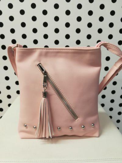 Ružová crossbody kabelka