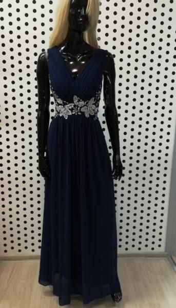 Tmavo modré šaty