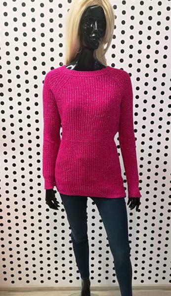 Ružový sveter