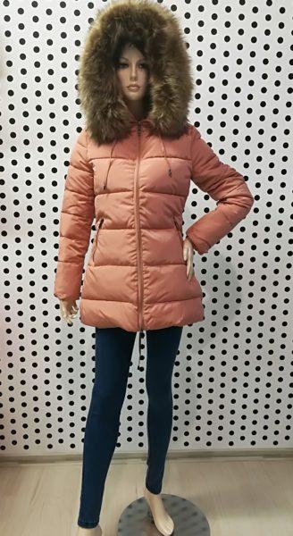 Ružová bunda