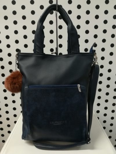 Modrá kabelka Laurence