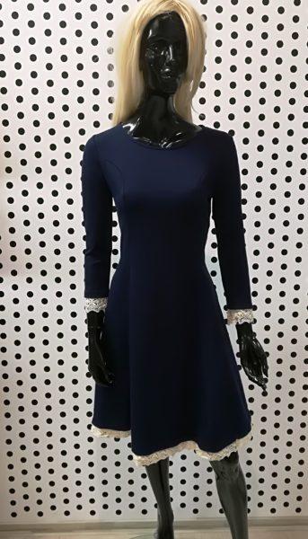 Šaty s čipkou