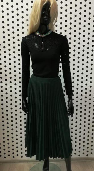Plisovaná sukňa