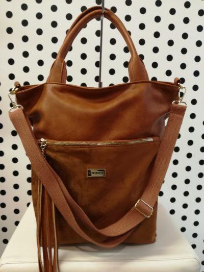 Hnedá kabelka Conci