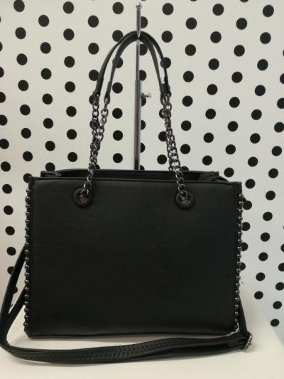 Čierna kufríková kabelka
