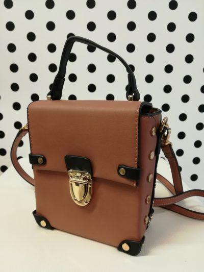 Hnedá kufríková kabelka