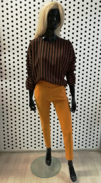 Horčicové nohavice
