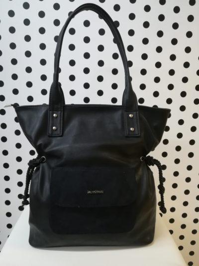 Čierna kabelka LB