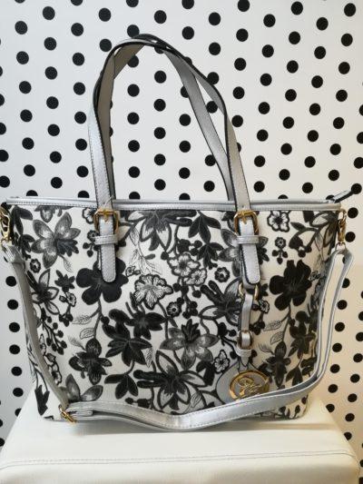 Kvetovaná kabelka