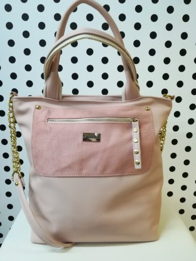 Ružová kabelka MB