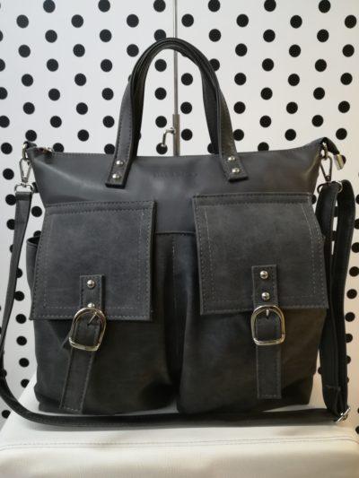 Sivá kabelka MB