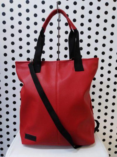 Červená kabelka KB