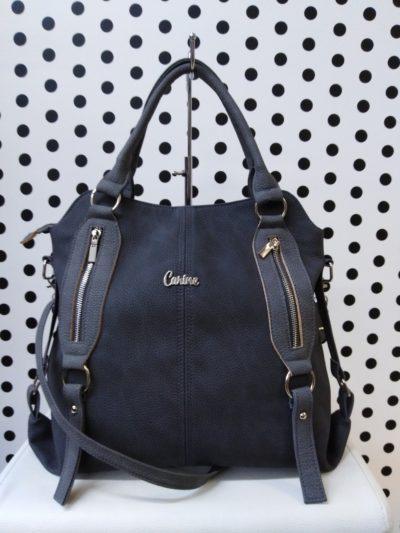 Sivá kabelka Carine