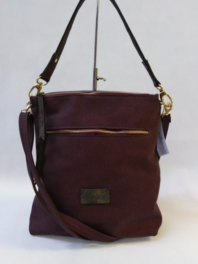 Bordová kabelka Carine
