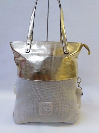 Zlatá kabelka Laura Biaggi