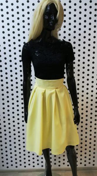 Žltá sukňa